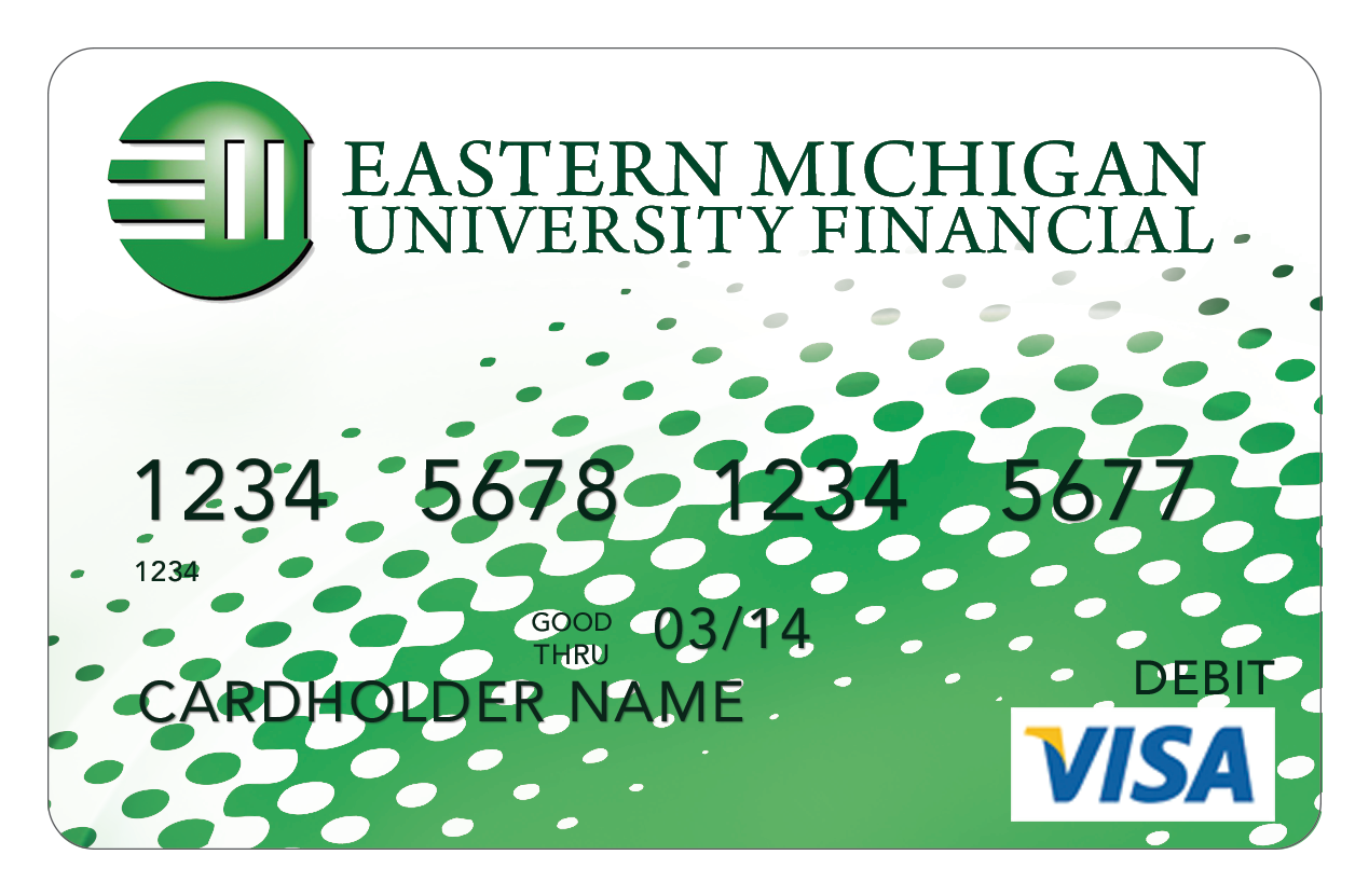 Check Card Green and White