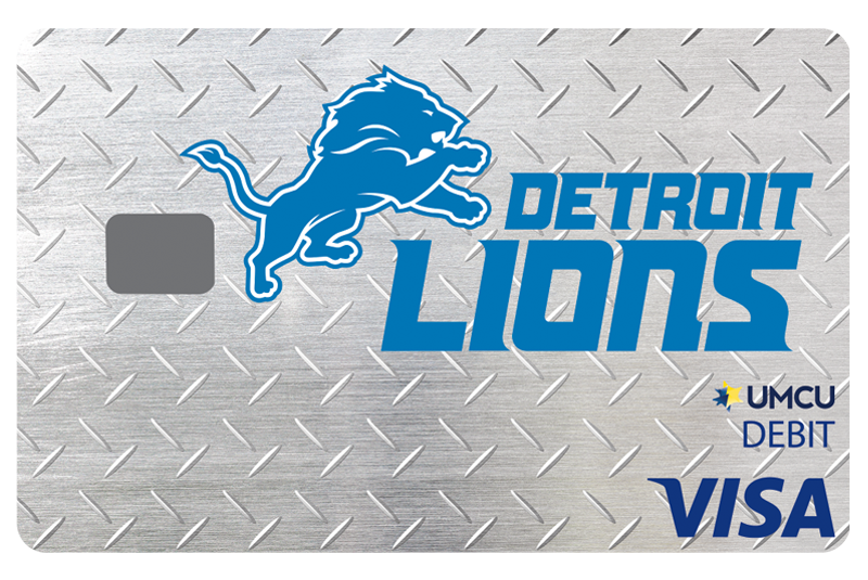 Check Card Lions Metal